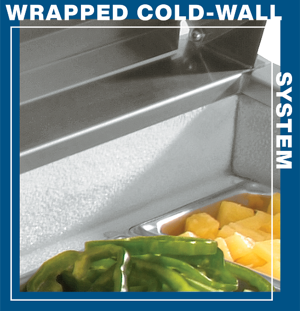 Wrapped-cold-wall-system